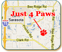 pet boarding Sarasota wooded estate